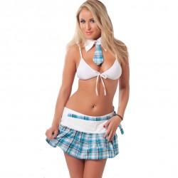 School Uniform, Skirt, Top And Neck Tie